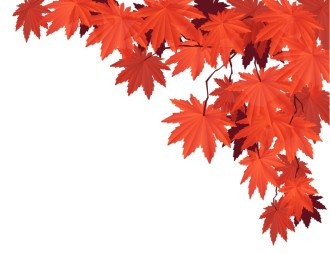 Red Leaves Christian Clipart