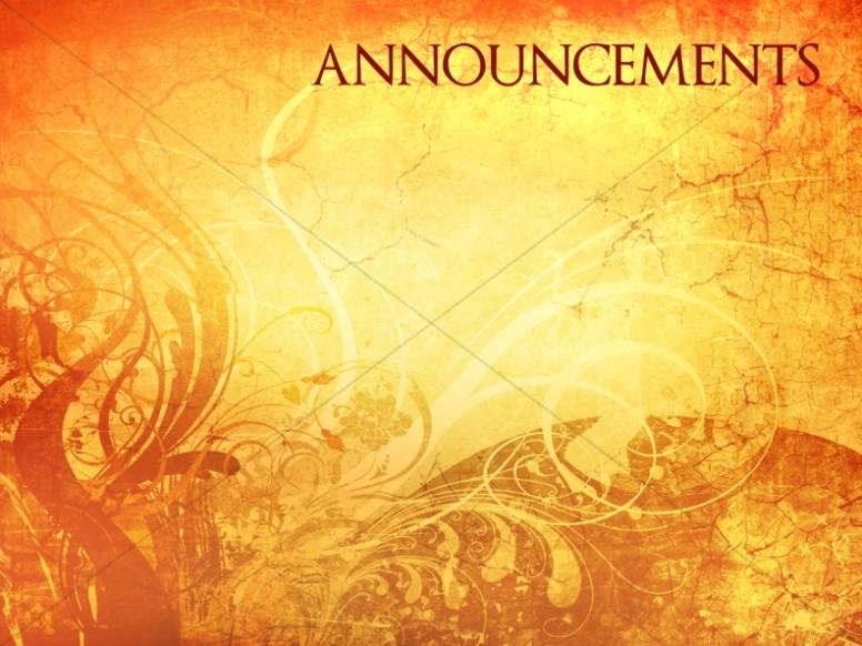 Church Announcements Announcement Backgrounds Sharefaith