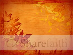 Fiery Leaves Worship Graphic
