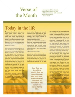 Harvest Time Church Newsletter