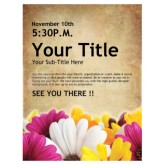 Womens Retreat Church Event Flyer