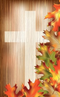Autumn Cross Bulletin Cover