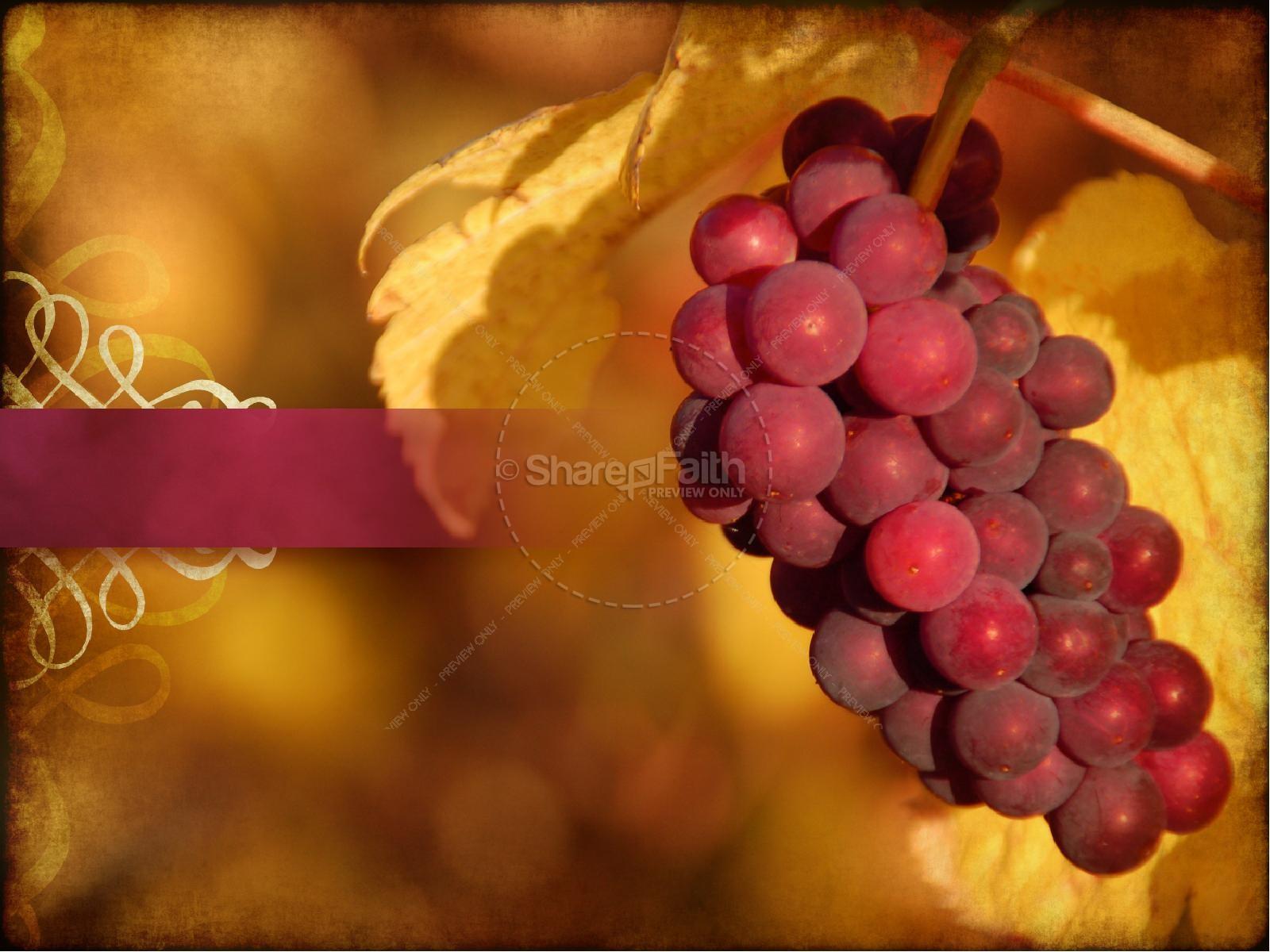 Joyful Thanksgiving Sermon PowerPoint