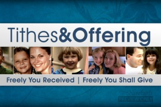 Tithes And Offering Video Loop