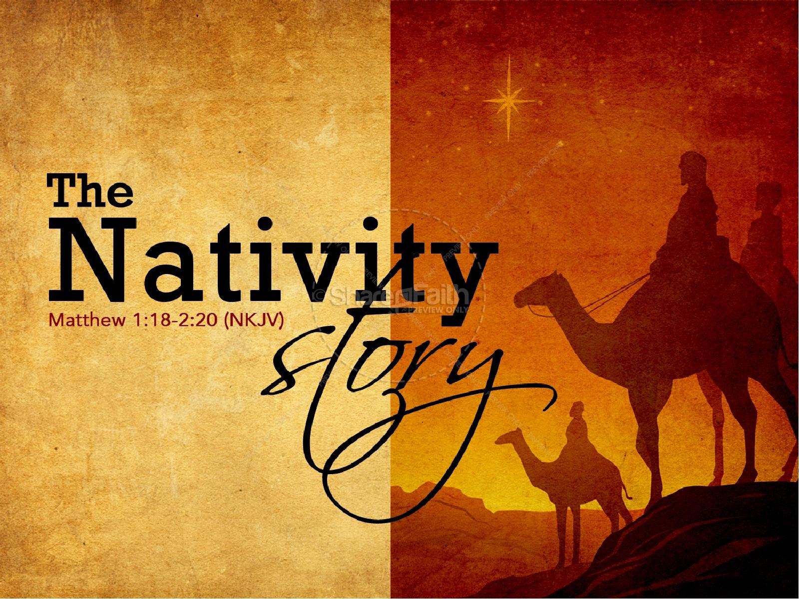 The Nativity Story PowerPoint