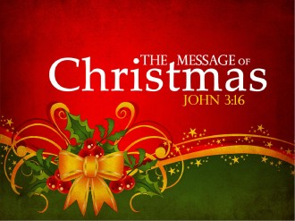 The Message Of Christmas PowerPoint