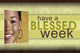Blessed Week Worship Video Loop