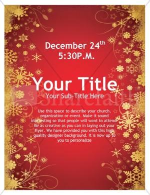 Joy Of Christmas Flyer