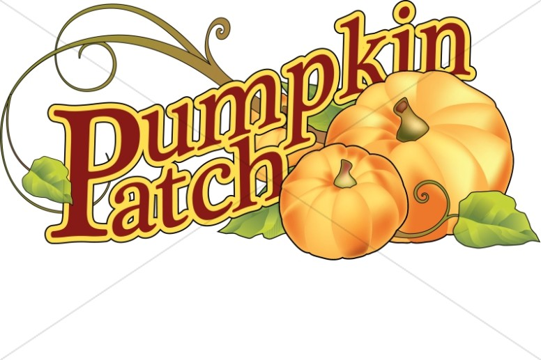 Pumpkin Patch Wordart