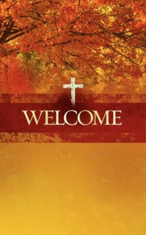 Prayerful Thanksgiving Bulletin Cover