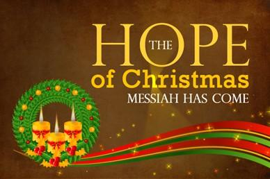 Hope Of Christmas Looped Video