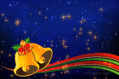 Ringing Bells Christmas Video Background