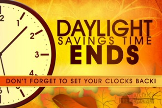 Daylight Savings End Video Loop