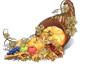 Cornucopia Color Clipart
