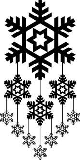 Snowflake Mobile Clipart