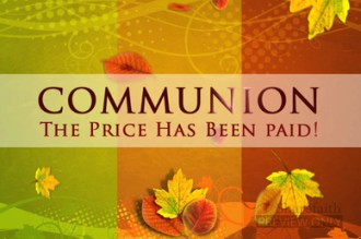 Fall Communion Video Loop