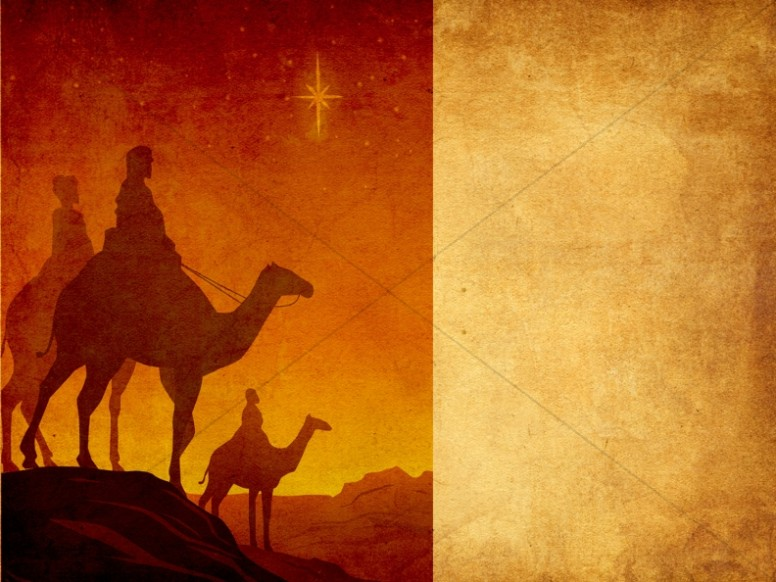 Nativity Story Worship Background