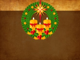 Bethlehem Star Worship Background