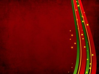 Christmas Ribbons Background Image