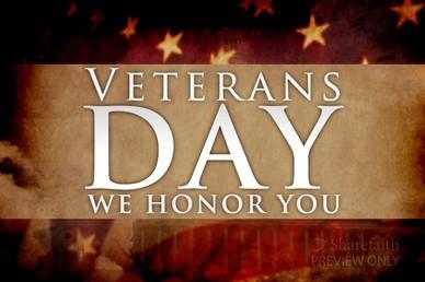 Veterans Day Video Loop
