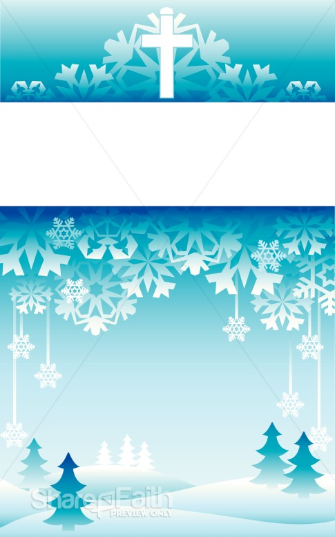 Winter Wonderland Bulletin Cover