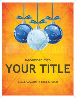 Christmas Church Flyer