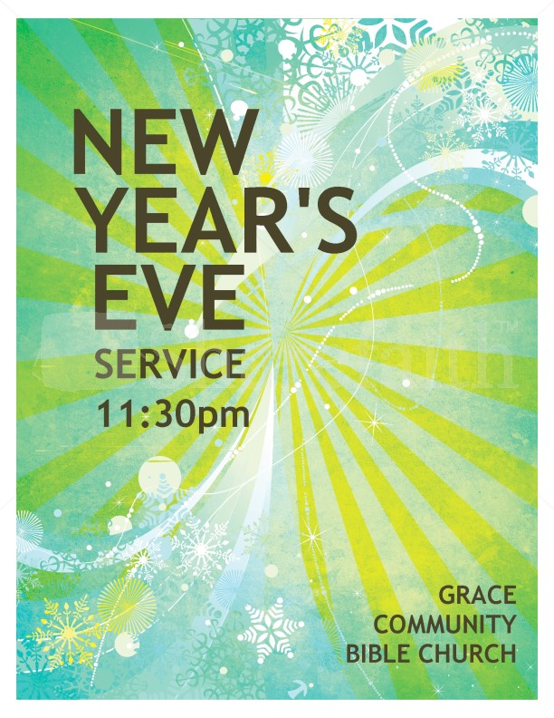 New Years Event Flyer Template – Event Flyer Templates