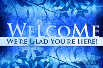 Winter Welcome Video Splash Screen