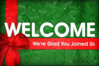 Christmas Present Welcome Video