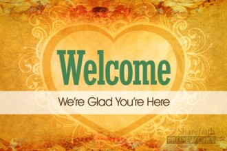 Welcome Heart Video Splash Screen