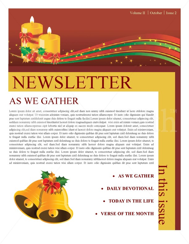 christmas newsletter template newsletter templates