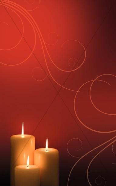 christmas light worship background slide