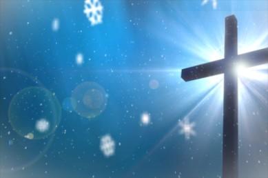 Cross And Christmas Video Loop
