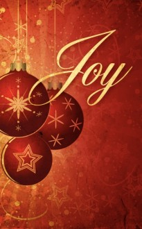 The Christmas Joy  Bulletin Cover