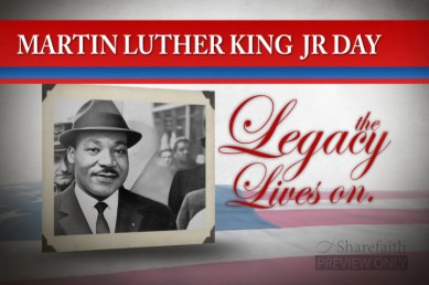 Martin Luther King Jr. Video Loop