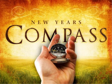 New Years Compass PowerPoint Sermon