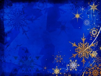 Winter Snowflake Background Slide
