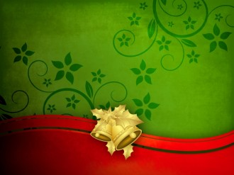 Christmas Bells Background Slide