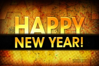 Happy New Year Fireworks Church Video Loop