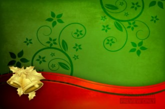 Red and Green Christmas Worship Video Background Loop