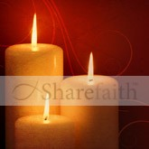 Christmas Candle Email Image