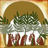 Palm Sunday Waving Email Image
