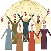 Pentecost Praise Email Image