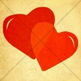 Valentine Hearts Email Image