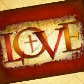 Valentine Cross Love Email Image