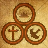 Trinity with Cross, Crown, and Dove Email Image
