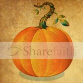 Colorful Pumpkin Email Image