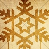 Golden Snowflake Christmas Email Image