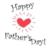 Fathers Day Email Salutation Graphic