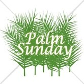 Palm Sunday Branches Email Salutation